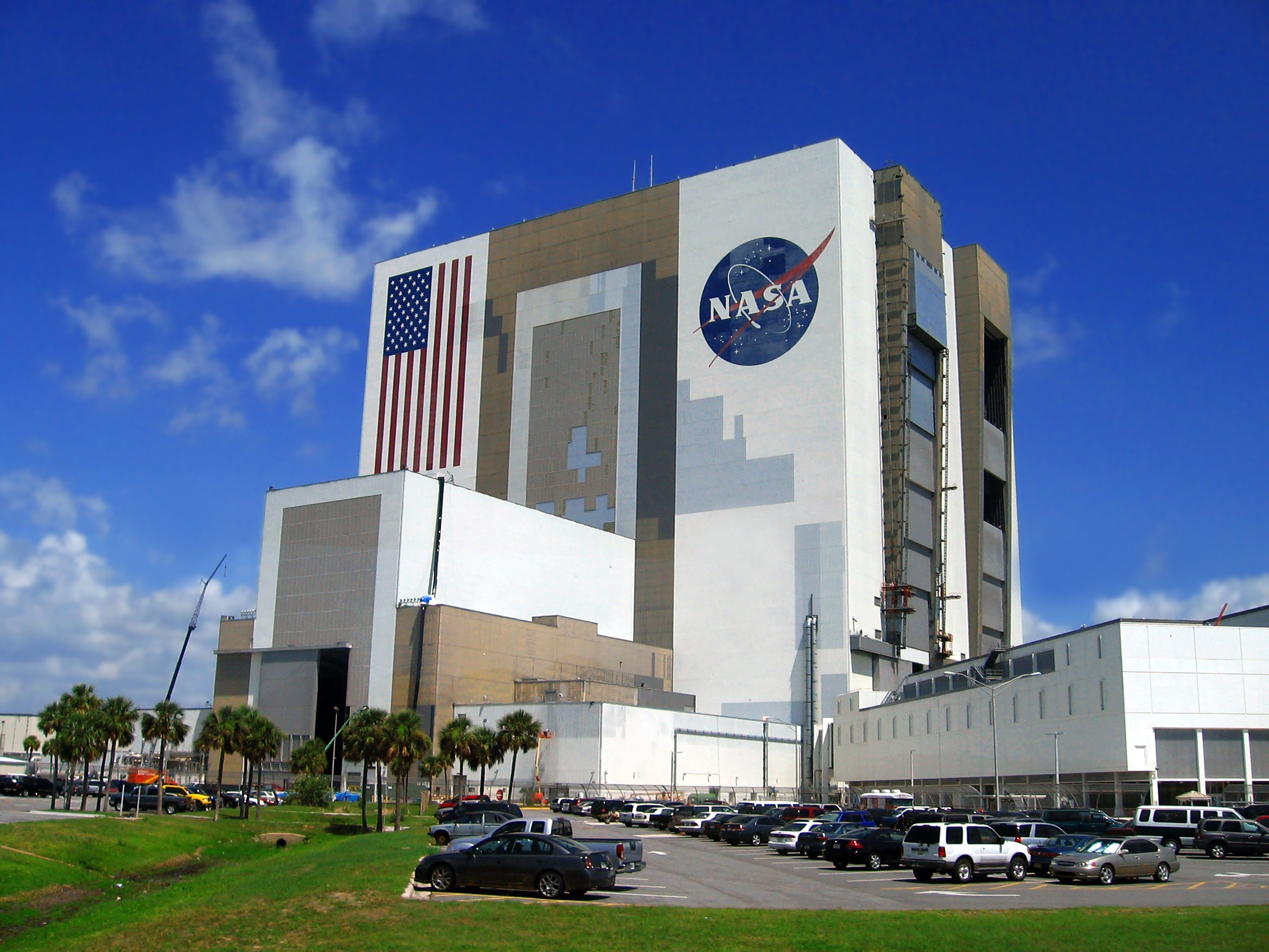 Budynek NASA, Kennedy space centre, Florida, USA, licencja: shutterstock/By Samot
