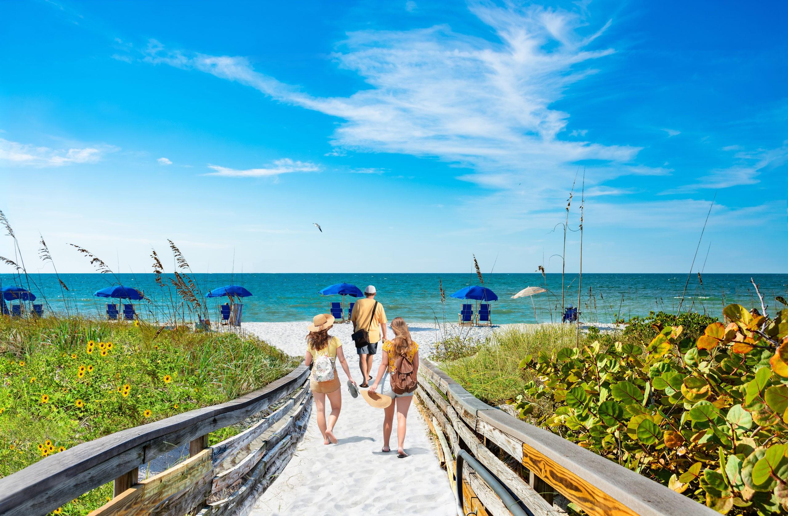 Caladesi Island State Park, USA, Florida, licencja: shutterstock/By Margaret.Wiktor