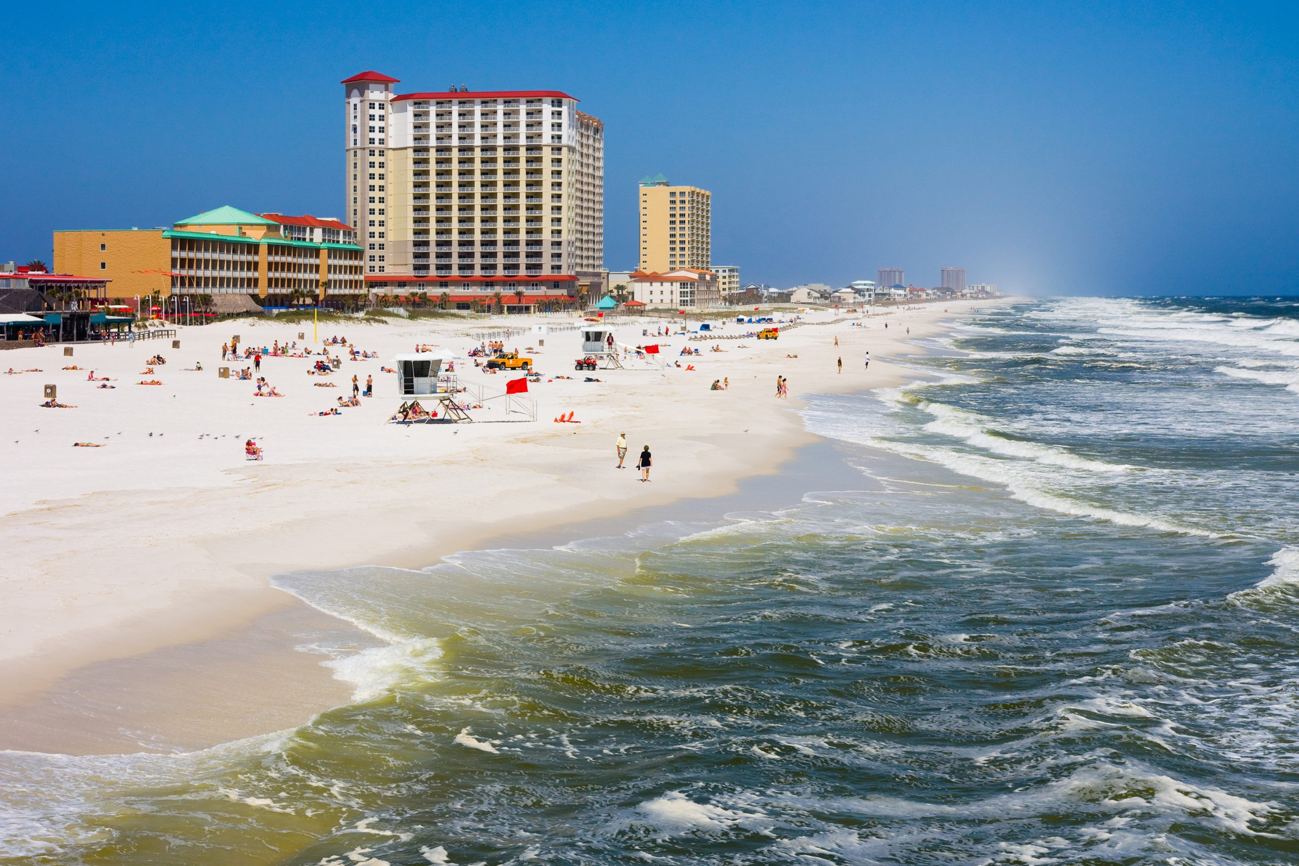 Pensacola BePensacola Beach in Florida, licencja: shutterstock/By Andrew Zarivnyach in Florida
