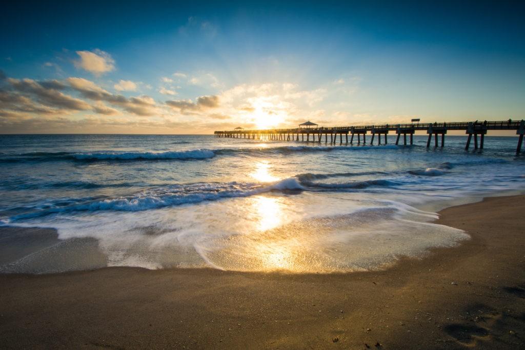 Juno Beach Pier Sunrise, Florida