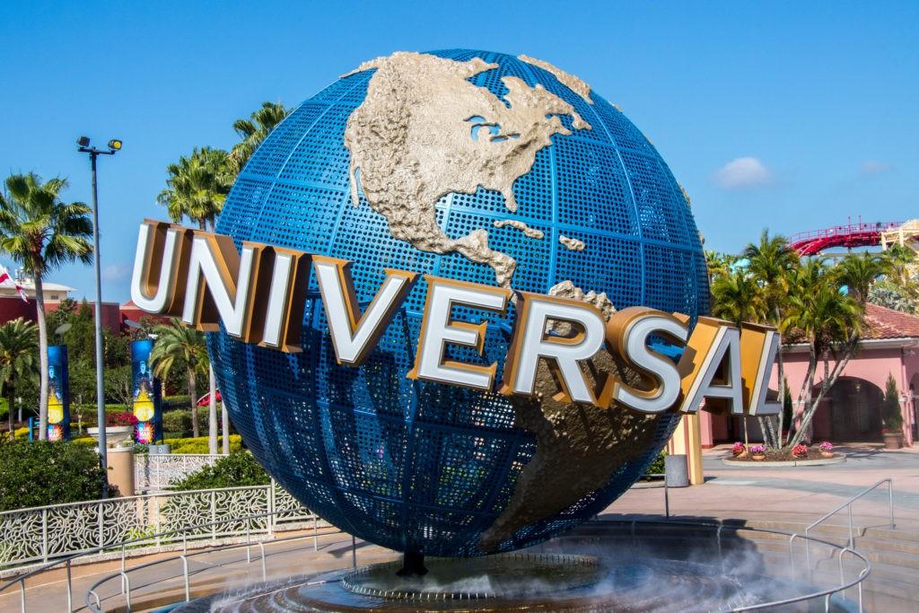 Orlando, Florida, USA - April 27th 2017: Universal Studios Globe