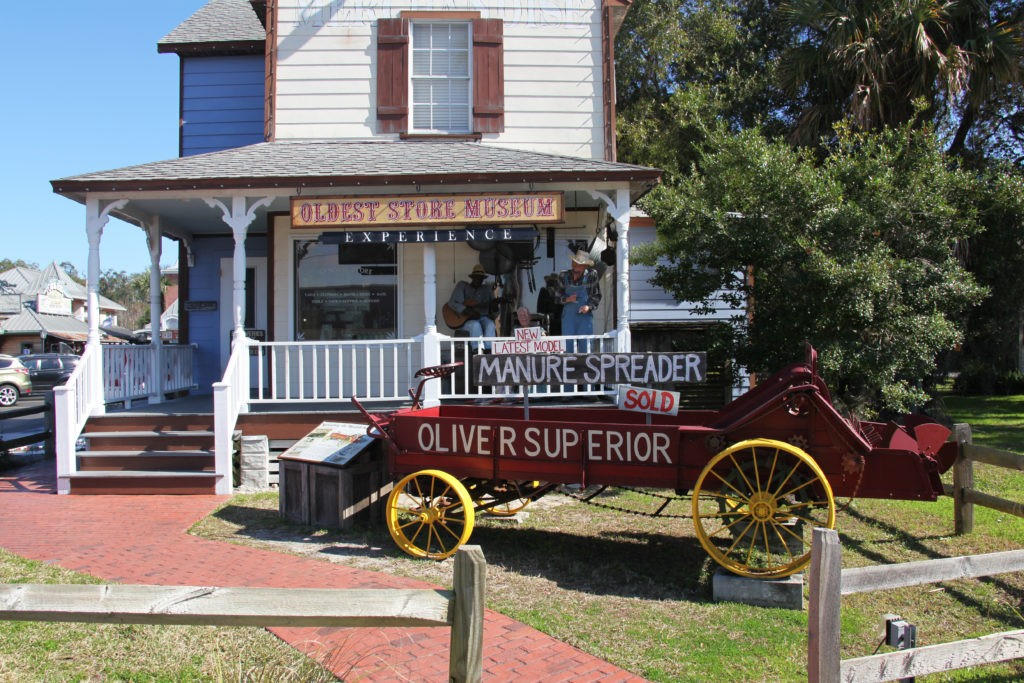 St Augustine, Florida, USA - 2-27-2018: Oldest store museum in America