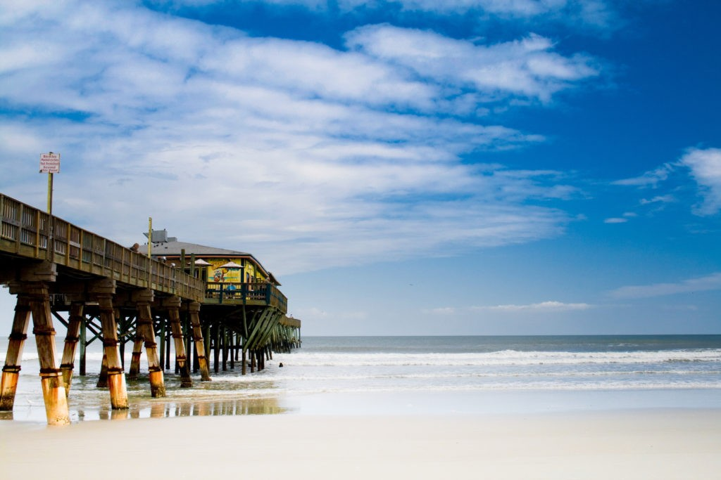 Sunglow fishing pier Daytona Beach Florida