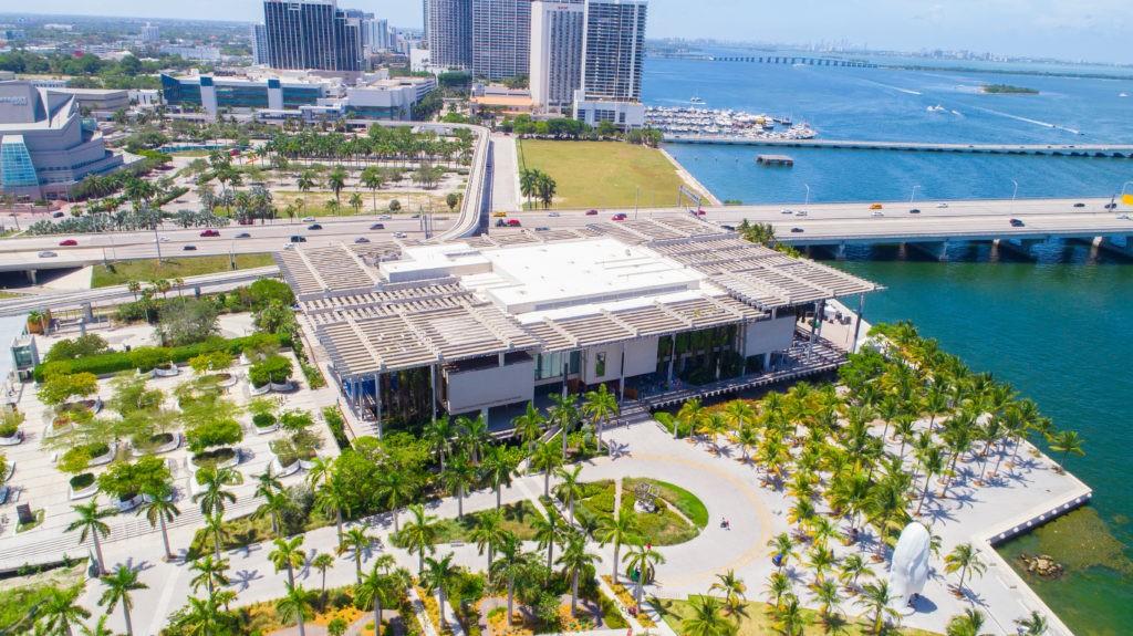USA. FLORIDA. MIAMI. JULY, 2017: Pérez Art Museum Miami
