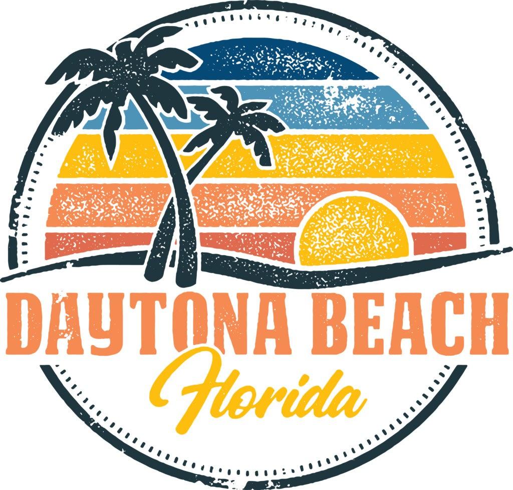 Vintage Daytona Beach Florida USA Vacation Stamp