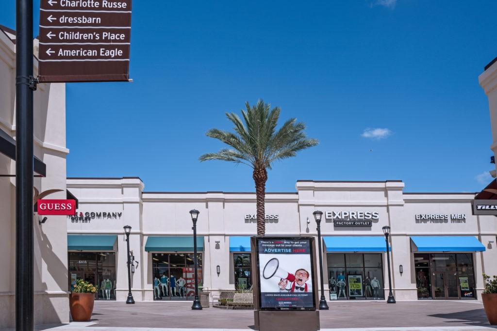 West Palm Beach Outlet, Florida, USA, January 2016