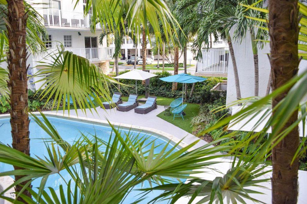 Piękny Crandon Park Beach znajduje się w Key Biscayne w Miami.