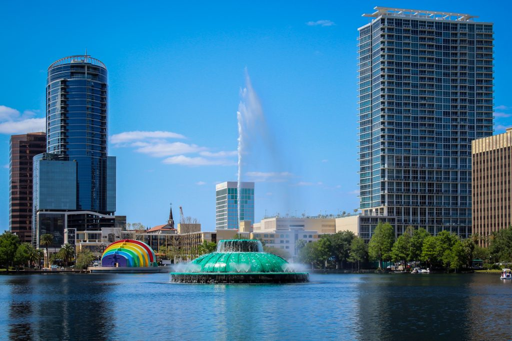 Downtown Orlando Cityscape